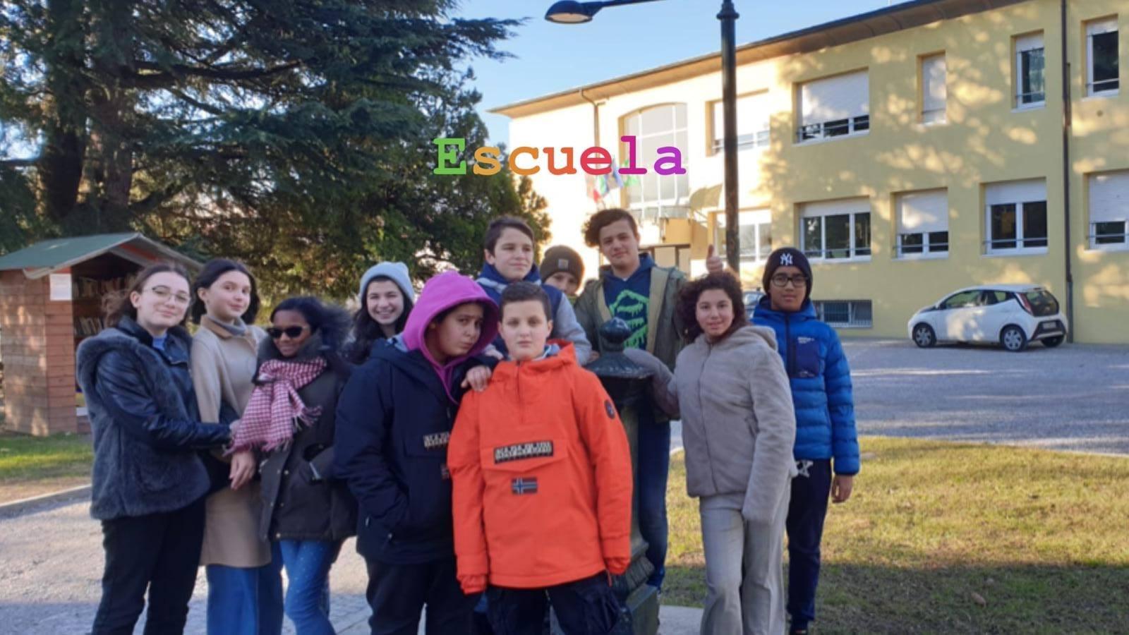 Lezioni di spagnolo all'aperto