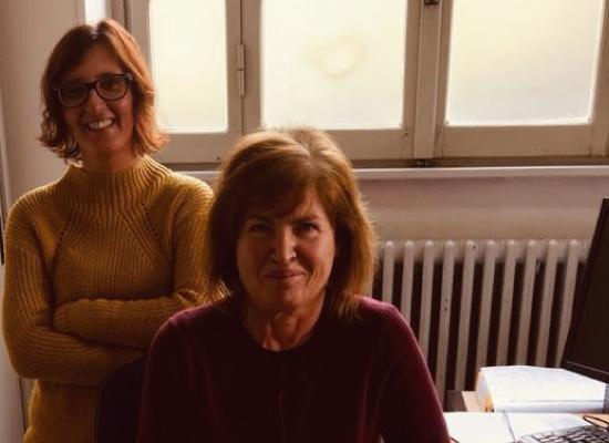 Roberta Cardarelli e Antonella Pini