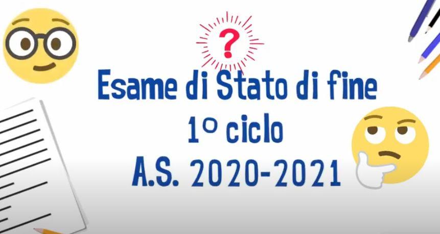 Esami di Stato di fine primo ciclo 2020-2021