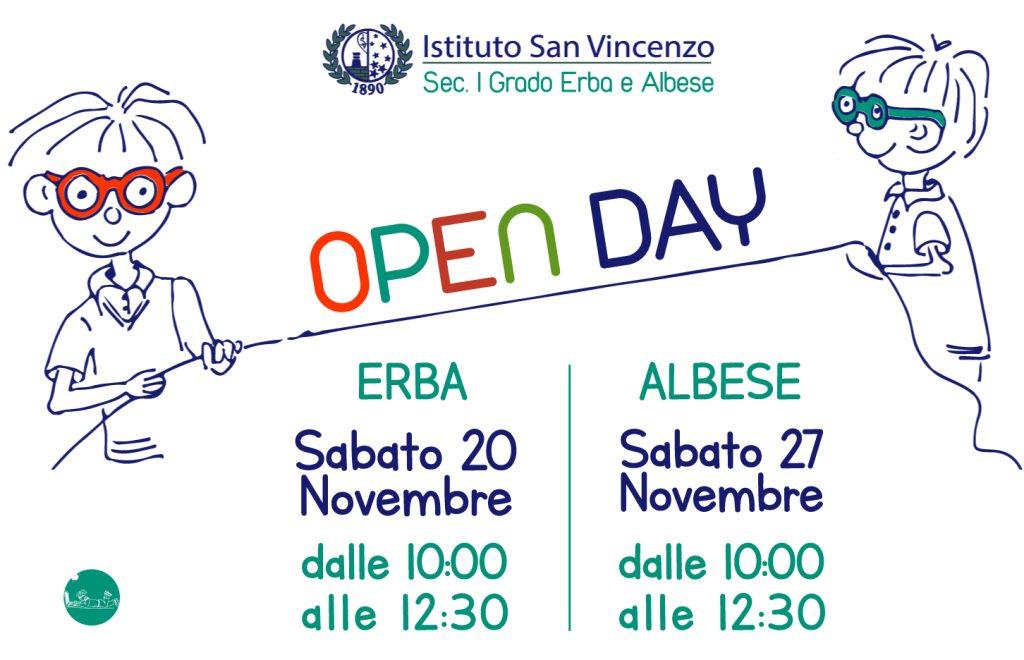 Open Day Scuola Secondaria di I° Grado